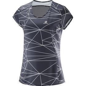 Salomon Comet Plus - T-shirt manches courtes Femme - gris